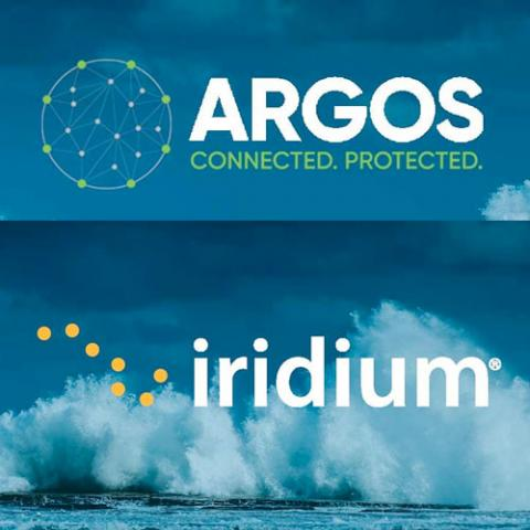 Argos and Iridium logos